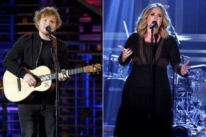 Ed Sheeran, Adele