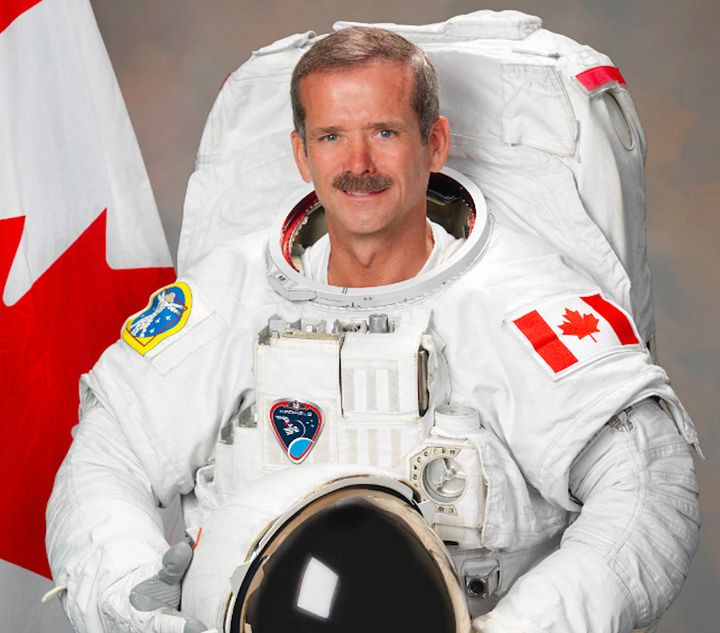 Col. Chris Hadfield became the first Canadian commander of the International Space Station in 2013.