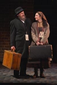 Donald Corren and Julie Benko in a scene from<strong><em>Rags</em></strong>