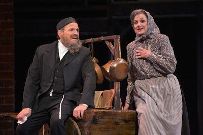 Donald Corren and Darlene Popovic in a scene from<strong><em>Rags</em></strong>