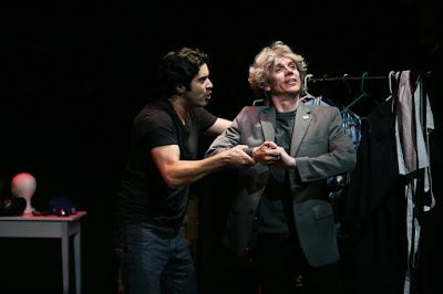 Damien Seperi and Alan Coyne in a scene from <strong><em>Autobiography of a Terrorist</em></strong>