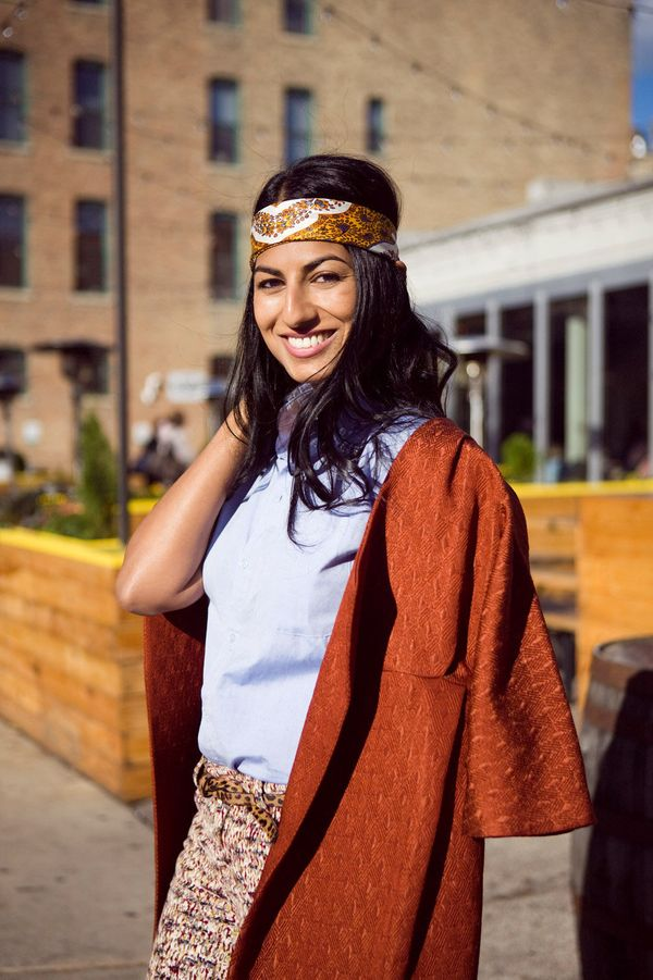 """""""Swathi Narra has a great sense of style that is influenced by living in New Orleans and having an Indian heritage. She"""