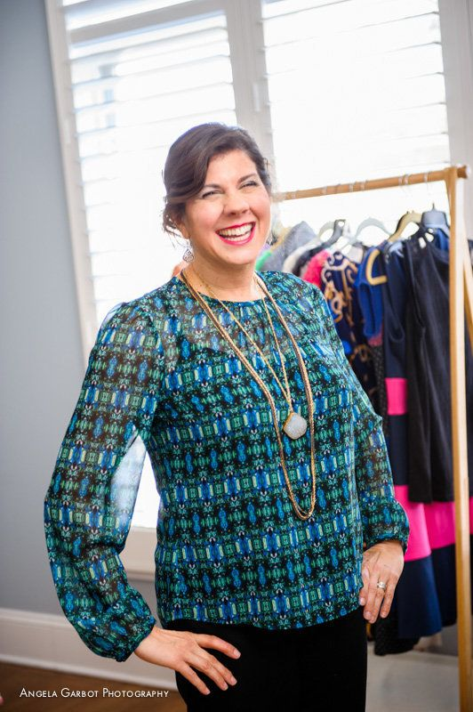 """""""Jill Houk is a chef consultant defying and thriving against traditional fashion faux pas. She is a woman in her late 4"""