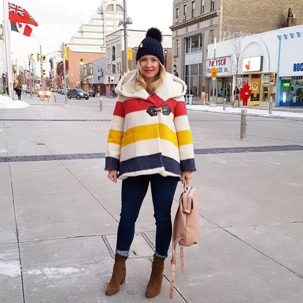 """""""Christine MacDonald Brisson is a fabulous mother of three and breaks every fashion rule, but I love it. She's al"""