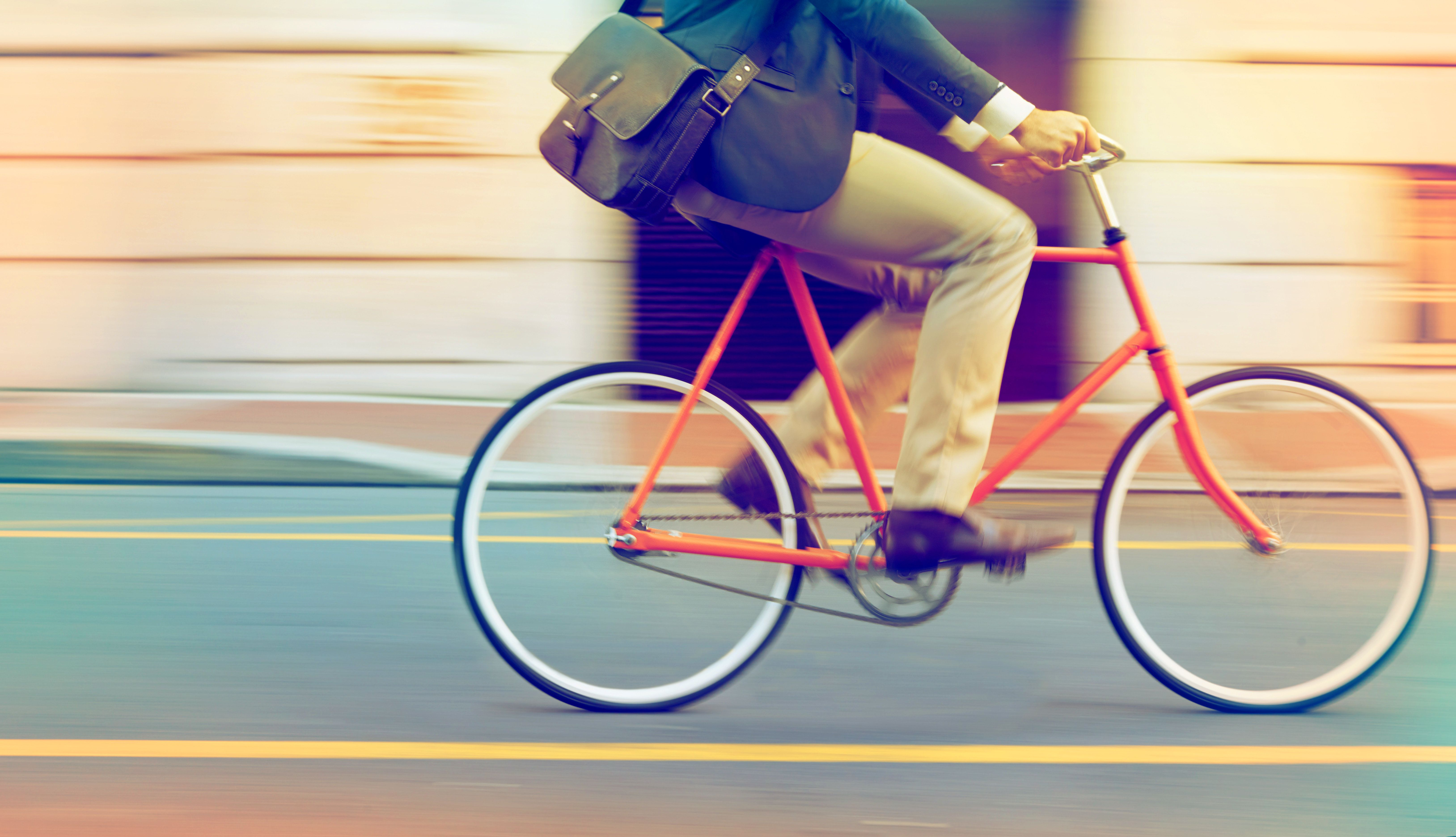 Cycling To Work Could Be The Key To Living