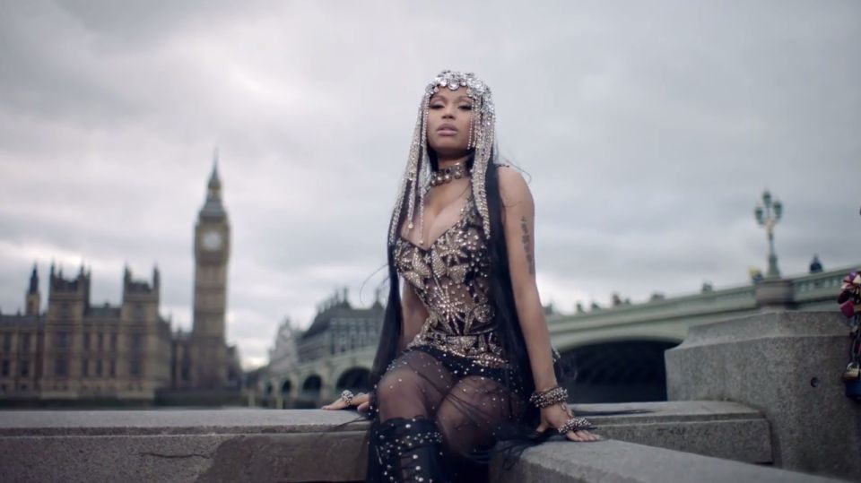 Nicki Minaj Receives Support From An Unlikely Fan After Westminster Bridge Music Video