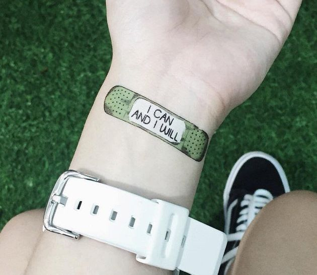 These temporary tattoos are helping people to stop self for Painkillers for tattoos