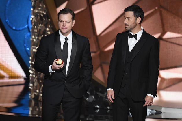 Matt Damon and Jimmy Kimmel's