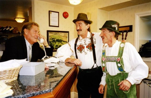 Jimmy with his brothers in 'Chuckle