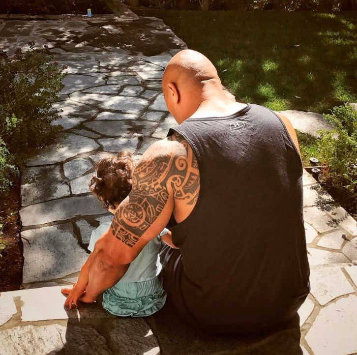 The Rock Wants To Teach His Daughter To Drive When She's Just Eight Years