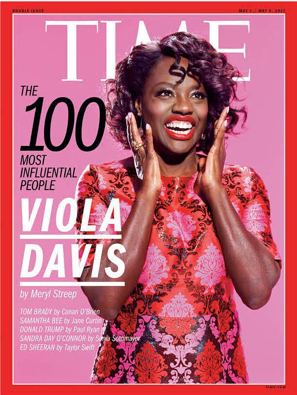 Viola Davis, James Corden And Emma Stone Make Time's 100 Most Influential People