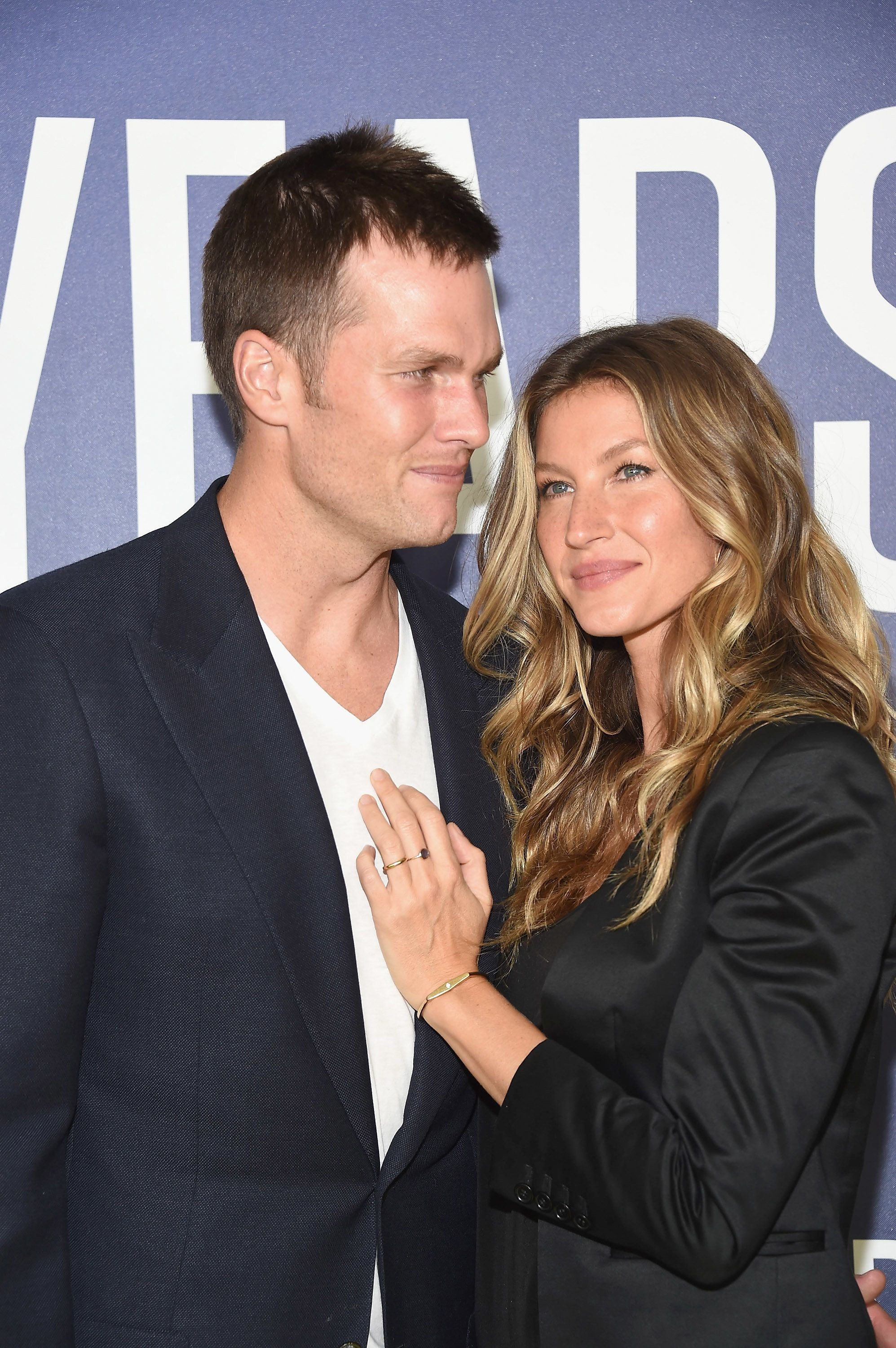 NEW YORK, NY - SEPTEMBER 21:  NFL player Tom Brady and model and YEARS correspondent Gisele Bundchen attend National Geographic's 'Years Of Living Dangerously' Season 2 World Premiere  at American Museum of Natural History on September 21, 2016 in New York City.  (Photo by Gary Gershoff/WireImage)