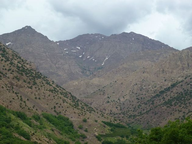 Ells had climbed Mount Toubkal in Morocco the day before he almost
