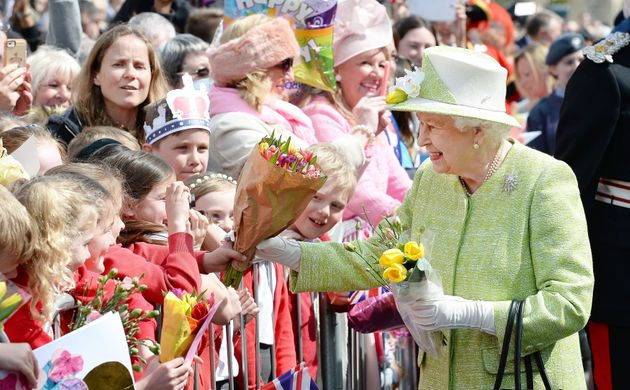 The Queen meets wellwishers during the 2016