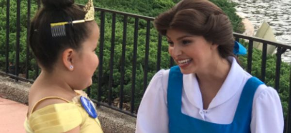 Belle Makes Disabled Fan's Dreams Come True, Proving She's A Hero Not Just A Princess