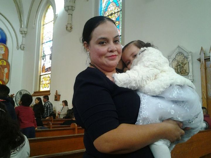 "Trujillo Diaz is a Catholic woman who was an active member of <a href=""https://www.facebook.com/csacinci/posts/12736904760782"