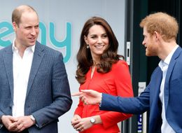 Duke and Duchess And Prince Harry Open School In Support Of Heads Together