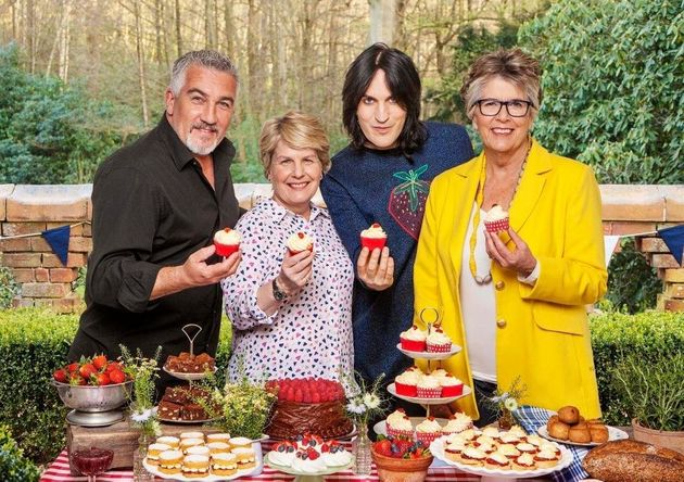Noel is one of the new stars of 'The Great British Bake