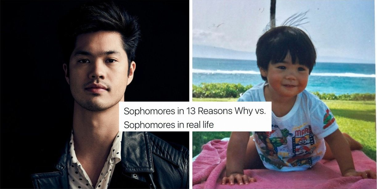 58f8f0072600004500c46c36?ops=1910_1000 ross butler has the best response to those '13 reasons why' memes