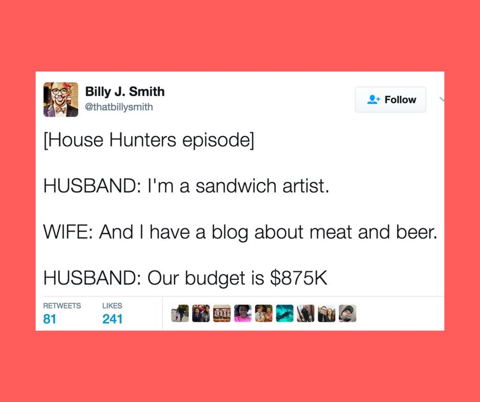 The Internet Is Perplexed About The Budgets On House Hunters