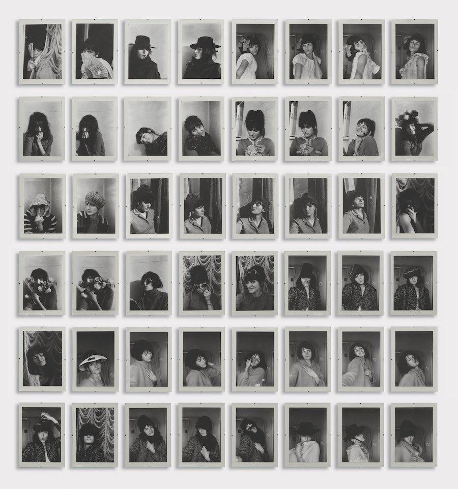 """Renate Bertlmann, """"Verwanglungen (Transformations),"""" 1969"""