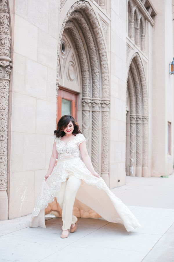 16 Fierce Wedding Jumpsuits For Brides Who Don\'t Do Dresses | HuffPost