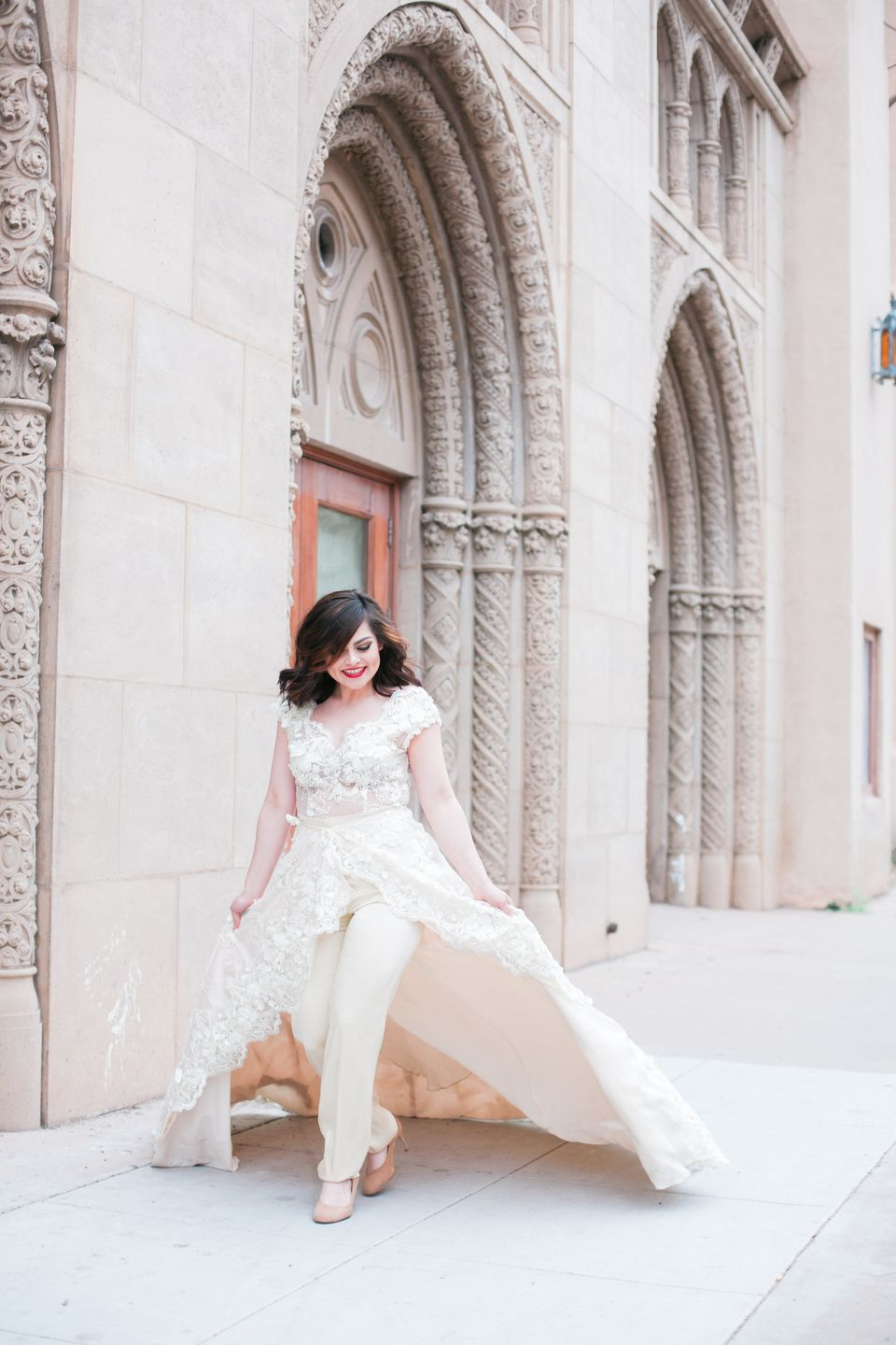 16 Fierce Wedding Jumpsuits For Brides Who Don T Do Dresses