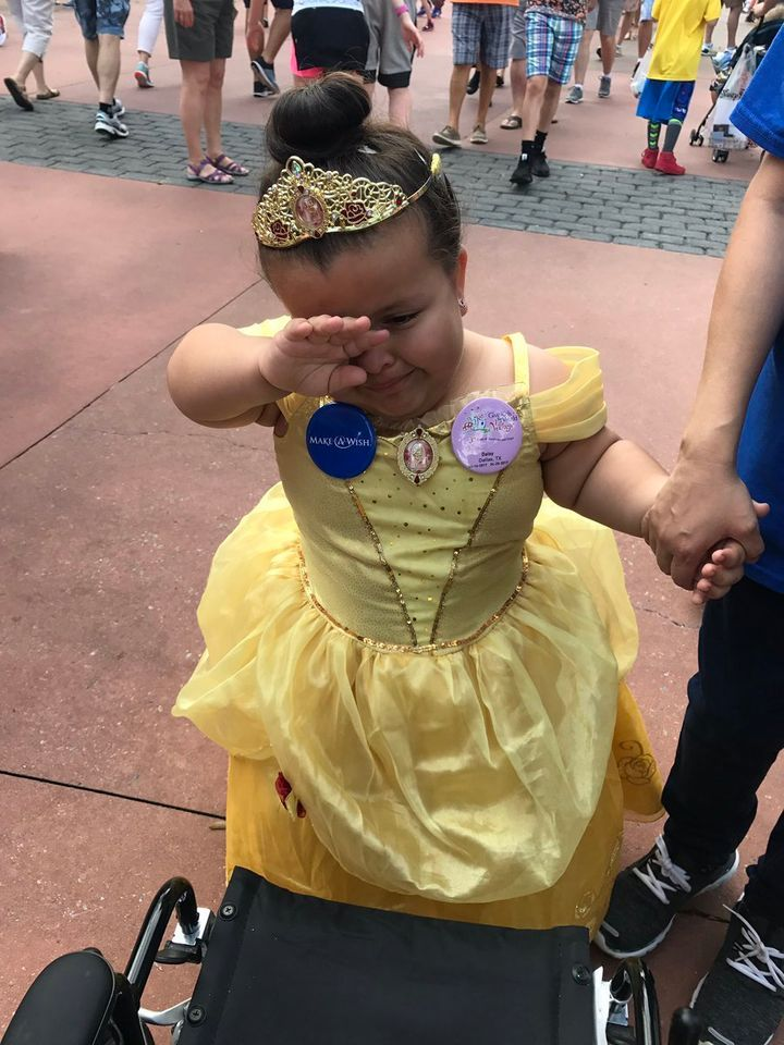 Daisy was so touched by her encounter with Belle that she started crying.