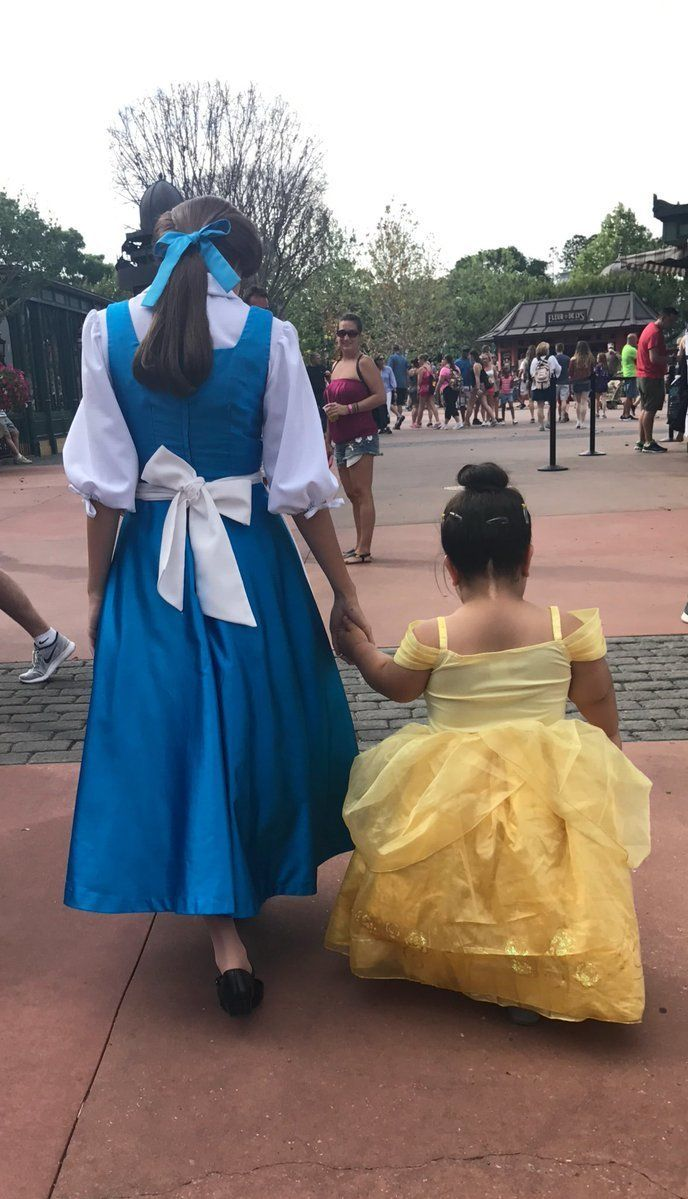 "Patricia Chavez, Daisy's aunt, said Daisy's day with Belle was ""honestly too cute for words."""