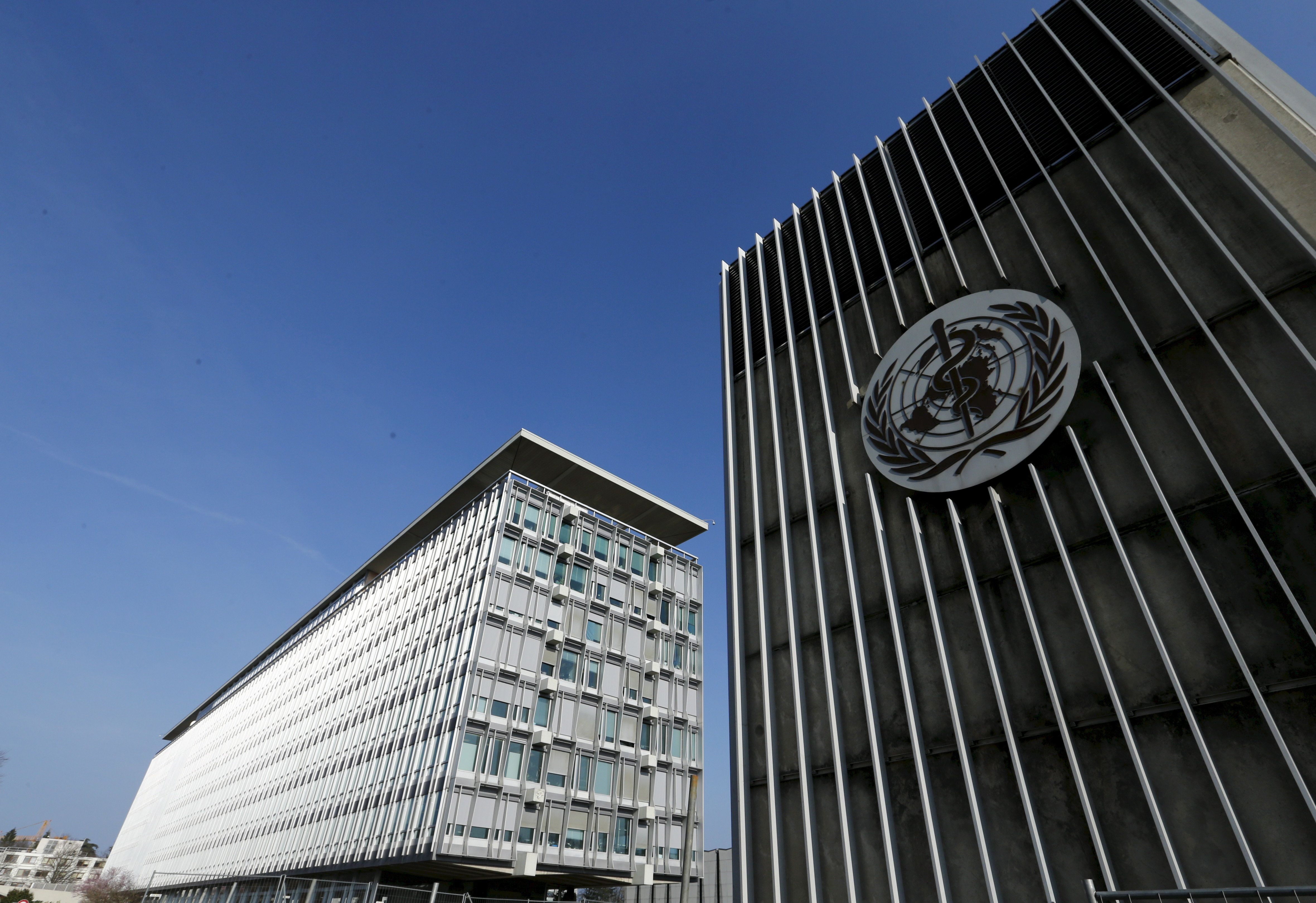 File photo of the headquarters of the World Health Organization (WHO) in Geneva, Switzerland, March 22, 2016. To match Special Report HEALTH-WHO/IARC   REUTERS/Denis Balibouse/Files