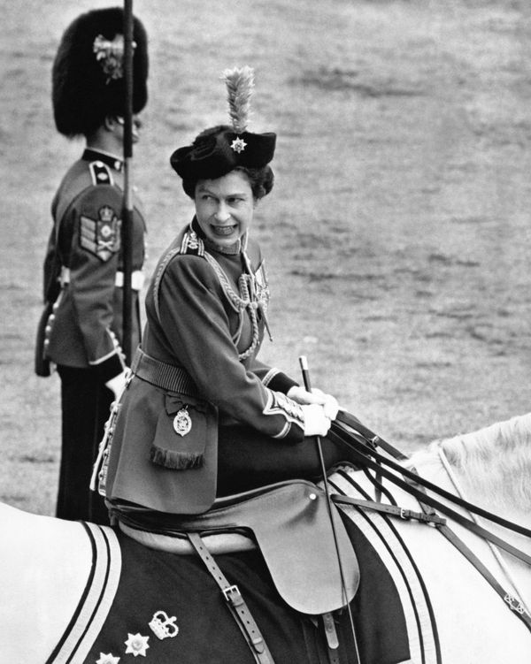 At the Trooping the Colour cermony on Jun 11, 1966.