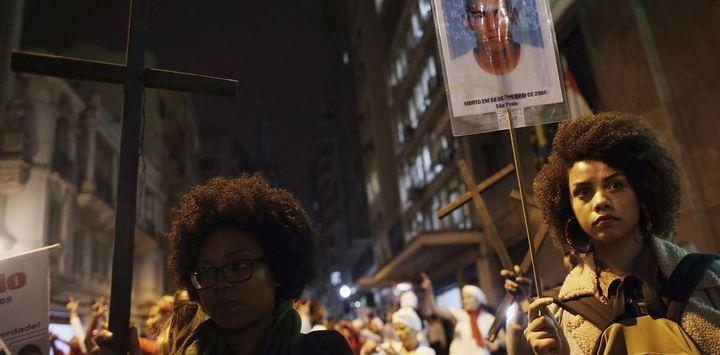 Not everyone in Brazil believes in an 'eye for an eye'.