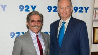 NEW YORK, NY - JUNE 18:  (L-R) TV Personalites Geraldo Rivera and Bill O'Reilly attend An Evening with Bill O'Reilly and Geraldo Rivera at 92nd Street Y on June 18, 2014 in New York City.  (Photo by Mark Sagliocco/FilmMagic)