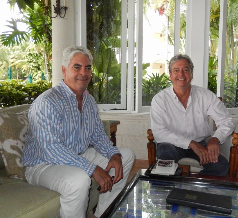 <em>Mark and Patrick O'Hara shared their perspectives on the inter-generational transmission process in their family business