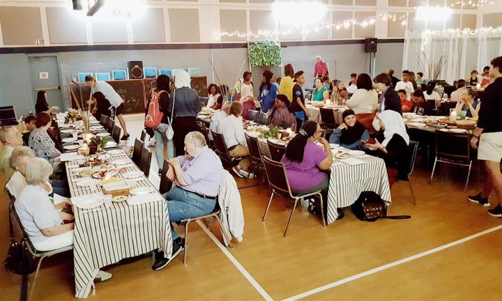 The Maundy Thursday dinner at The Grove Church