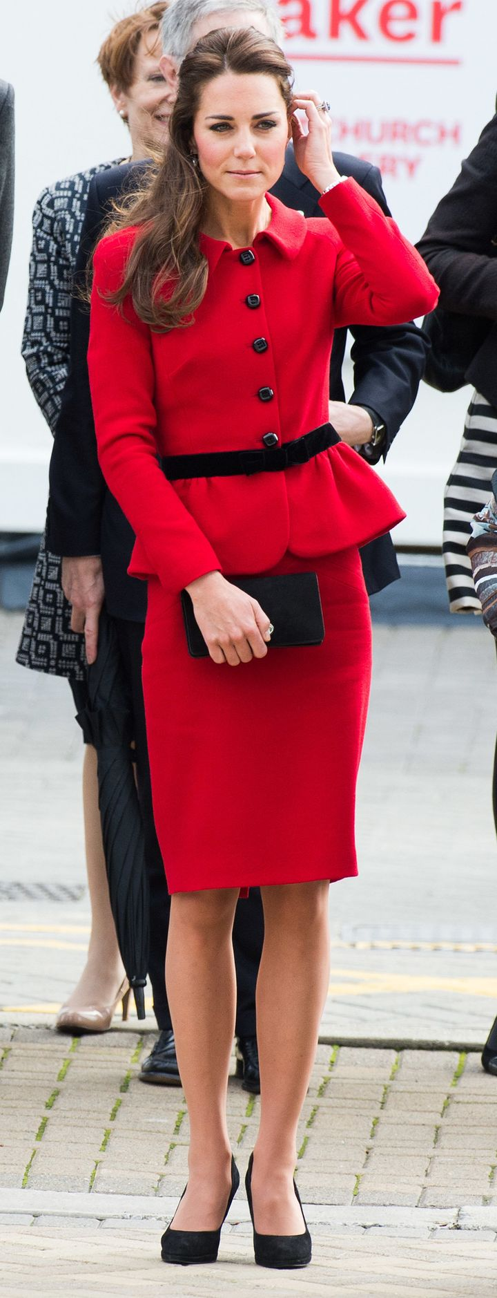 In Luisa Spagnoli, in Christchurch, New Zealand on 14 April 2014.