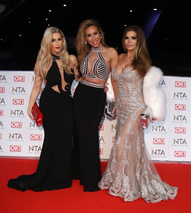 Leanne, Ampika and Tanya at the 2017 National Television