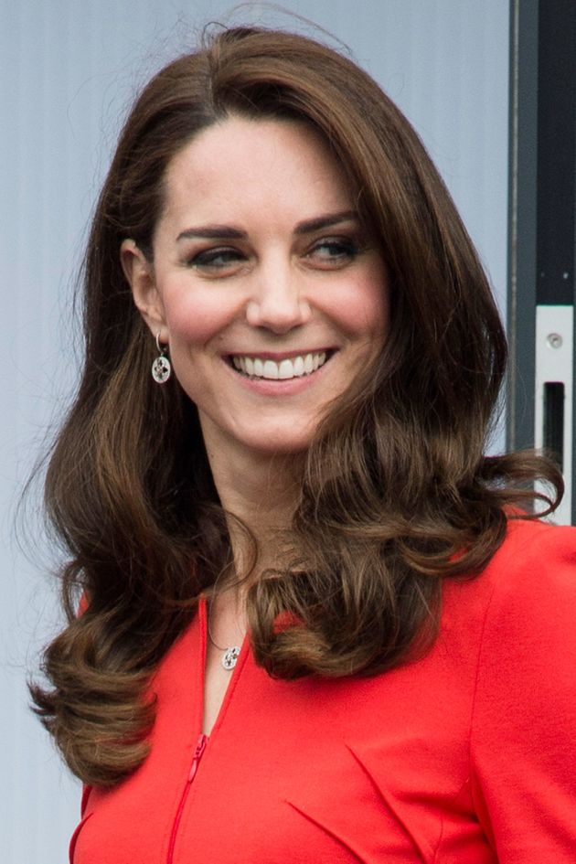 The Duchess of Cambridge Proves Once Again Why Regal Red Is Her Signature