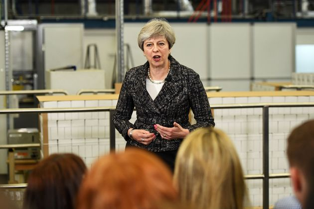 Theresa May has been criticised for her response to a question about university
