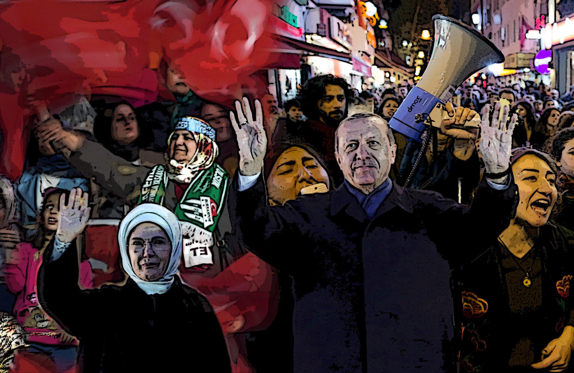 President Erdoğan narrowly won aconstitutional referendum in Turkey.
