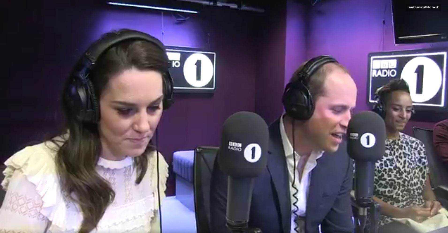 The Duke And Duchess Of Cambridge Just Completely Gatecrashed Radio