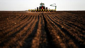 HULL, IA - APRIL 28: A recipient of USDA Farm Subsidies, crop farmer Doyle Wissink works to prepare equipment for evening planting of corn, in Hull, Sioux County, Iowa, Thursday, April 28, 2011. Wissink receives farm subsidies from the Direct and Counter-cyclical Program (DCP), and if corn or soybean prices dip below a certain level, he would also receive aide through the Average Crop Revenue Election (ACRE) Program Ã' but crop prices have remained high enough for that subsidy to not have taken affect. (Photo by Melina Mara/ The Washington Post via Getty Images)