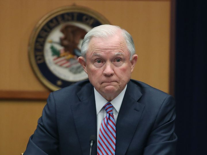 "Jeff Sessions dismissed questions about ramifications of prosecuting WikiLeaks on the mainstream press as ""speculative"" and """