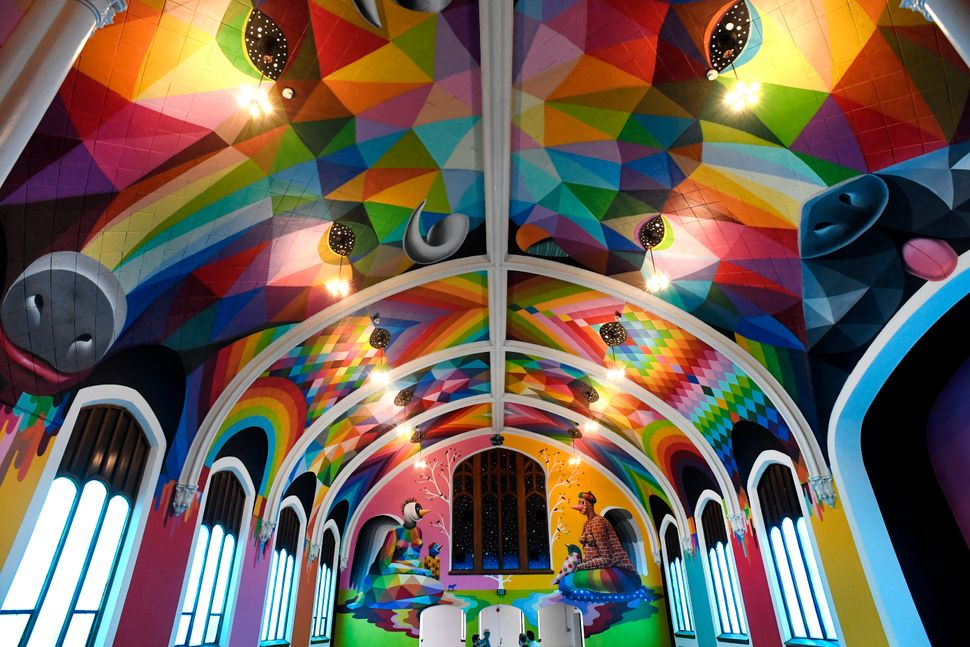 """The church opened itsdoors to the public on April 20 -- a day memorialized by marijuana enthusiasts as a sort of """"high"""""""