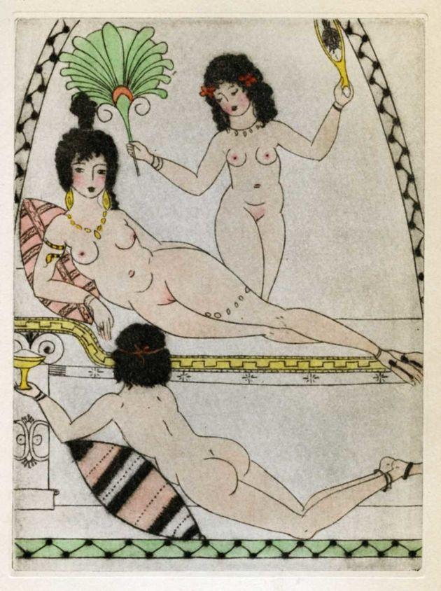Conheça Clara Tice, ilustradora erótica que escandalizou Nova York no século