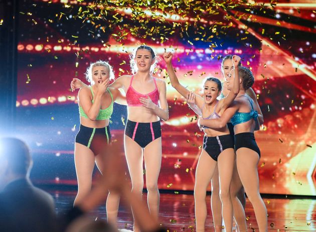 Alesha Dixon gave her Golden Buzzer to dancers Just