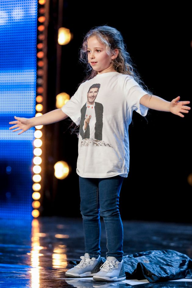 Issy's T-shirt proved to be an important part of her