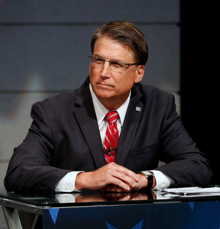 Former North Carolina Gov. Pat McCrory (R) refused to concede last year's gubernatorial election, citing voter fraud.