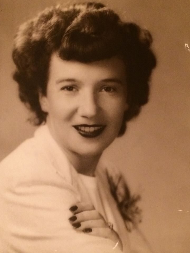 My grandmother, Ilsa Dahl Cole, shortly after she arrived in America.