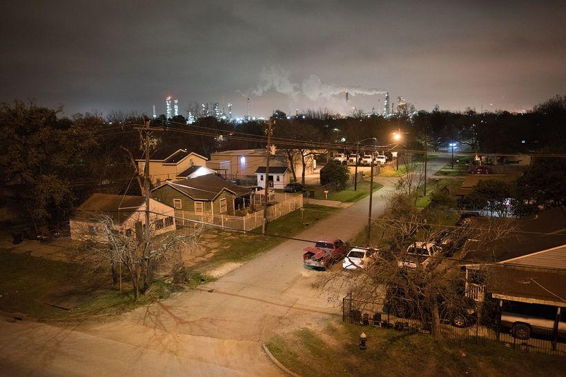 "The predominantly Hispanic community of Manchester in Houston, Texas, where a <a rel=""nofollow"" href=""http://www.chron.com/ne"